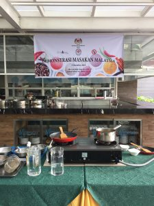 sarawak laksa open cooking demonstration
